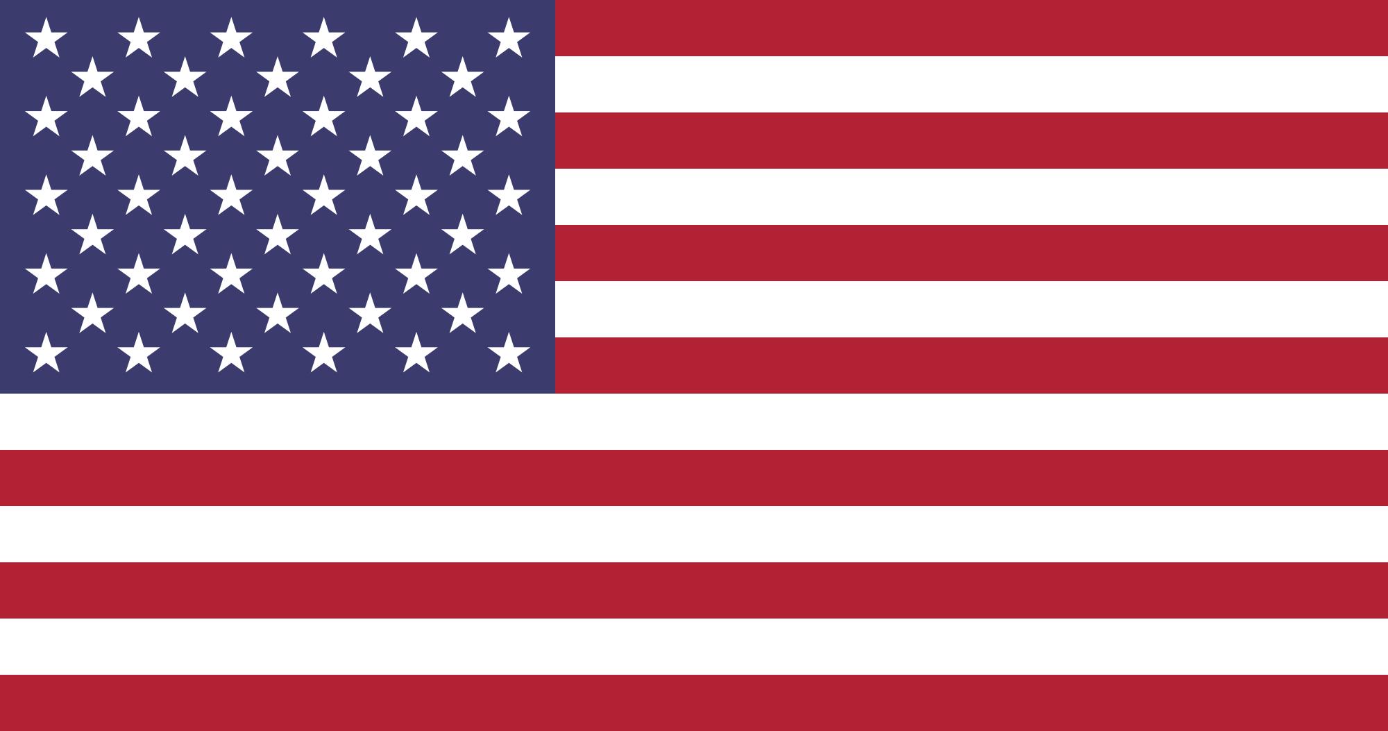 Native Speaker Englisch (US) - Flagge