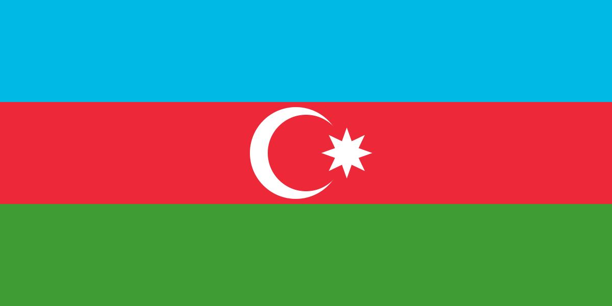 Native Speaker Aserbaidschanisch - Flagge