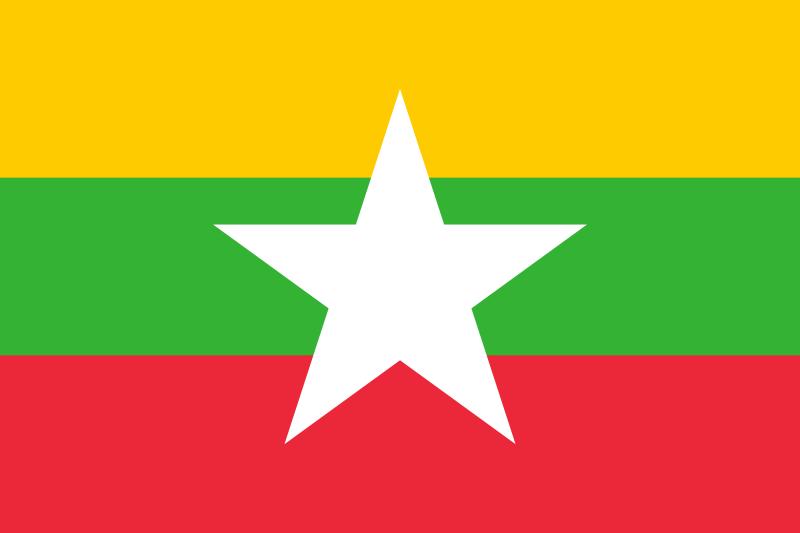 Native Speaker Burmesisch - Flagge
