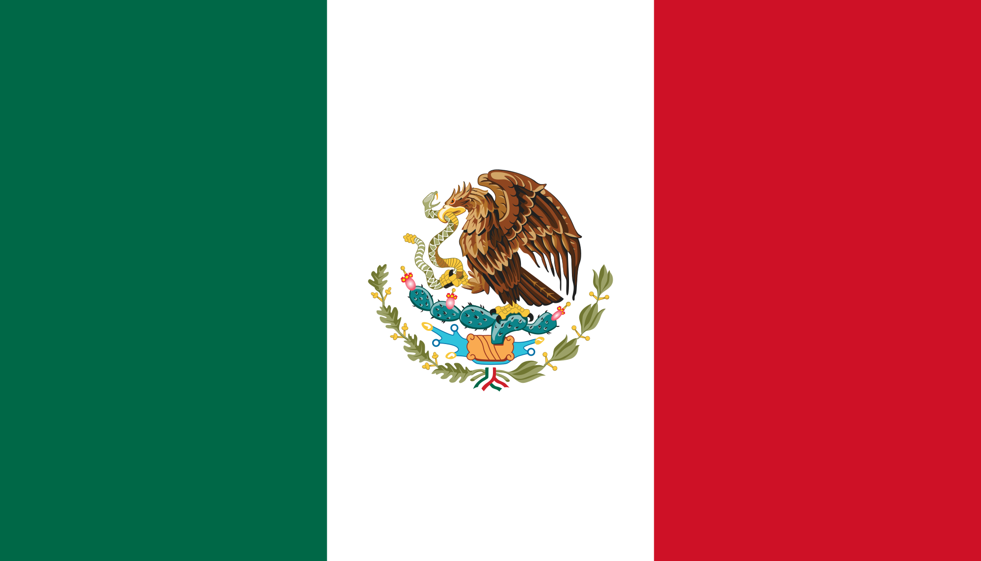 Native Speaker Spanisch (Mexikanisch MX) - Flagge