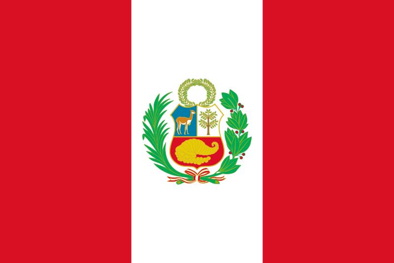 Native Speaker Spanisch (Peruanisch PE) - Flagge