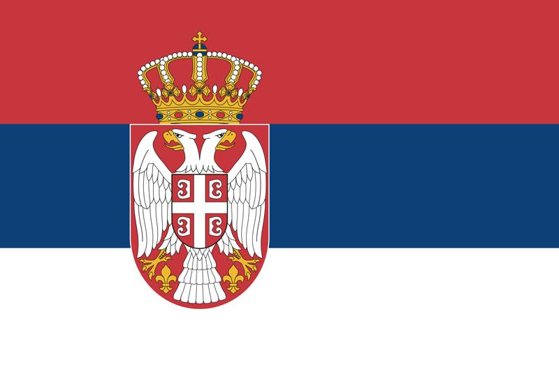 Native Speaker Serbisch - Flagge