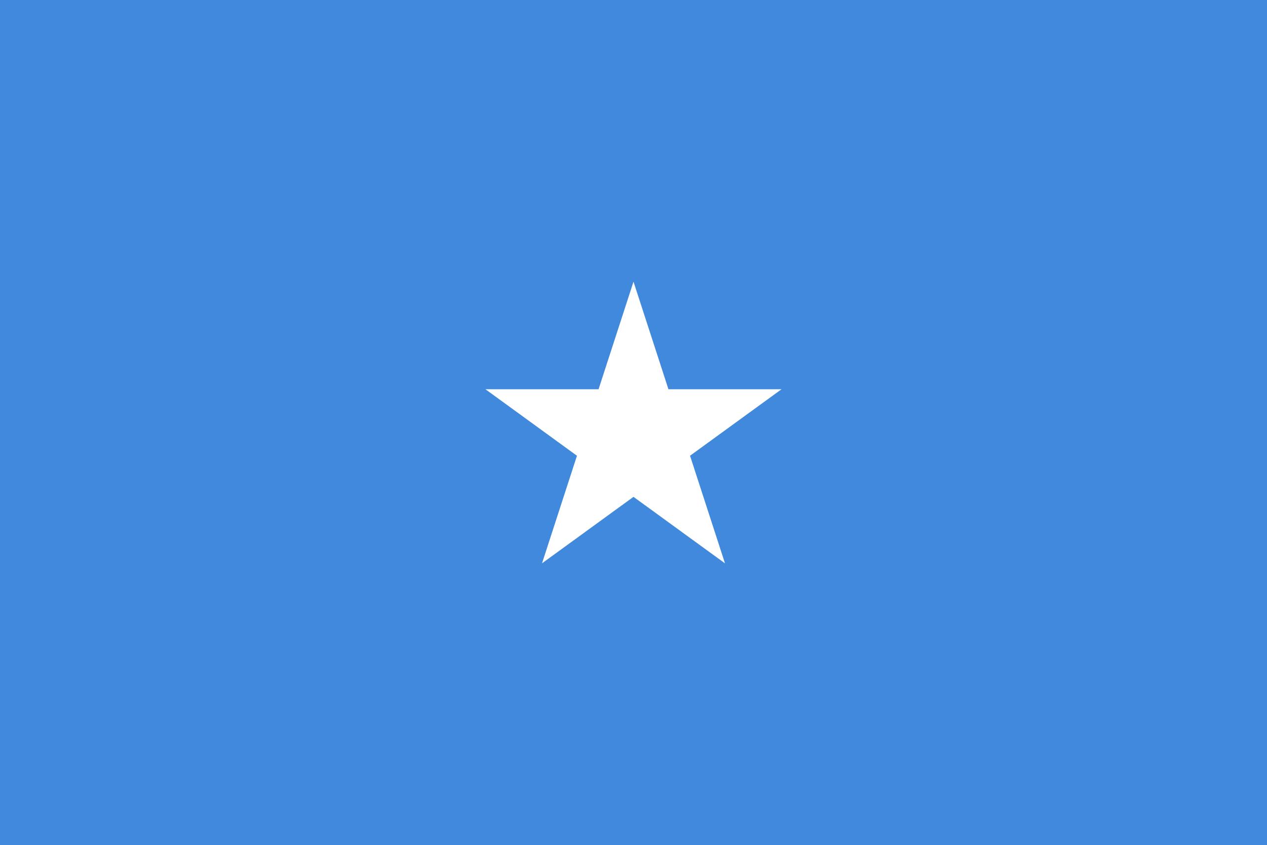 Native Speaker Somali - Flagge